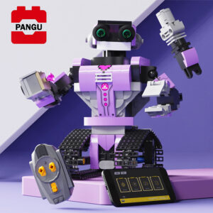 RC robot track assembly building blocks