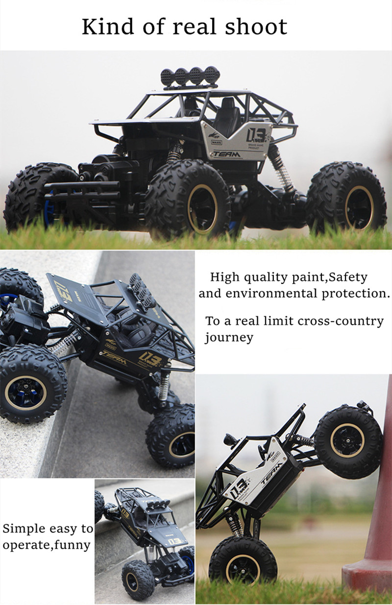 Rc car 1:12 4WD update version 2.4G radio remote control car car toy car 2021 high speed truck off-road truck children's toys